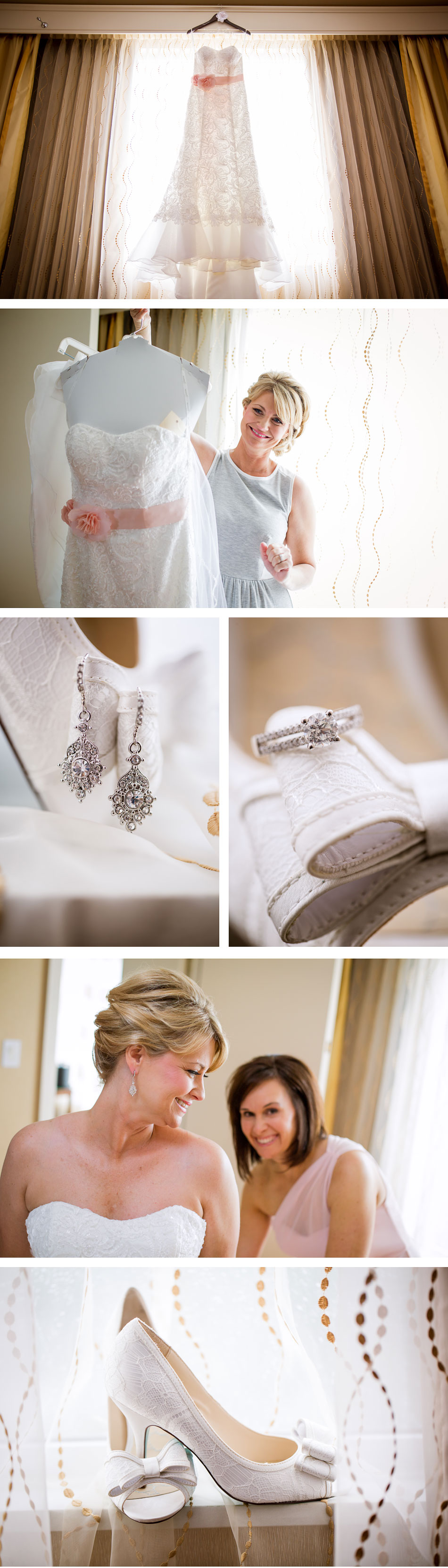 Marriot East Bridal Prep Pictures