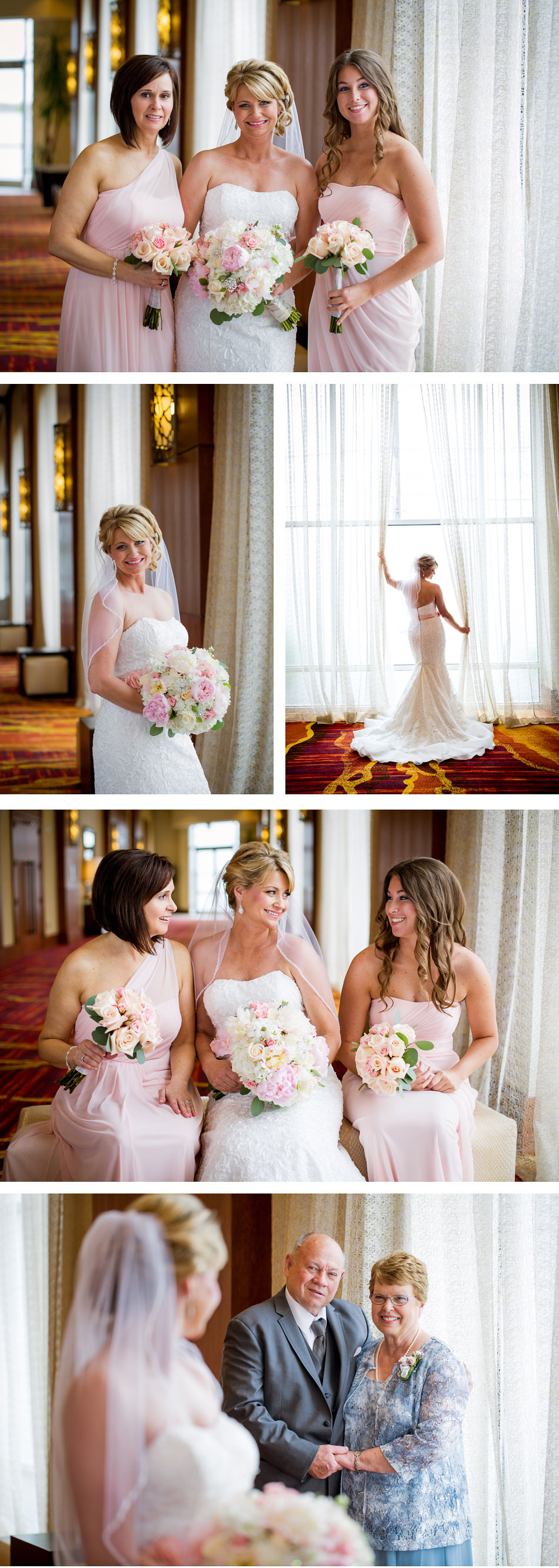Marriot East Bridal Party Pictures