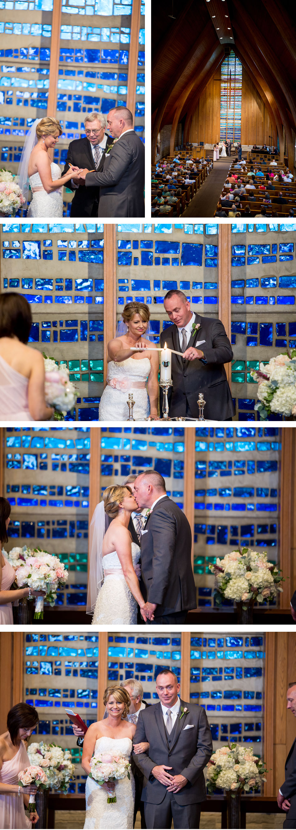 Caldwell Chapel wedding Ceremony