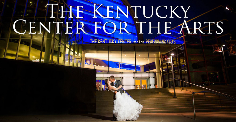 The Kentucky Center for the Arts Wedding Photo
