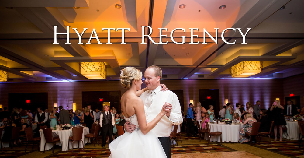Hyatt Regency Louisville Wedding Photo