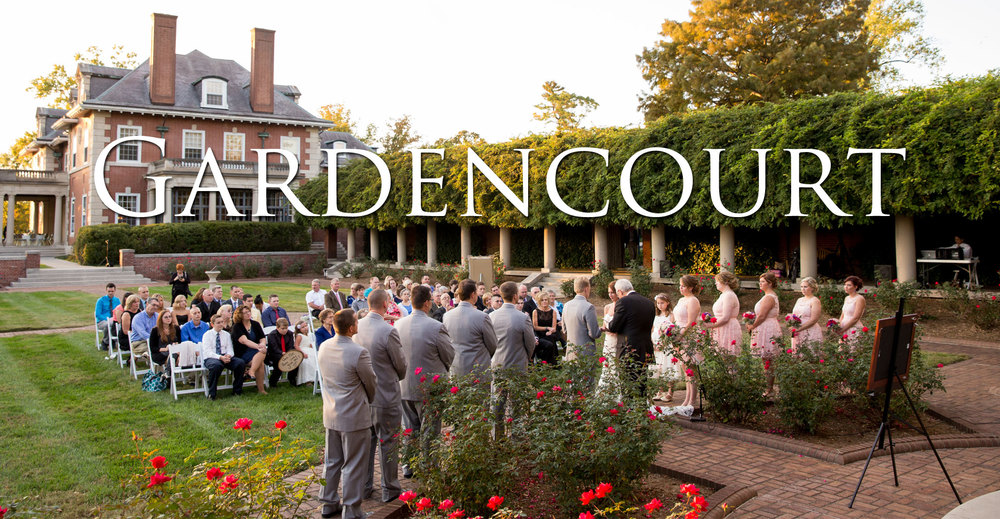Gardencourt Wedding Photo
