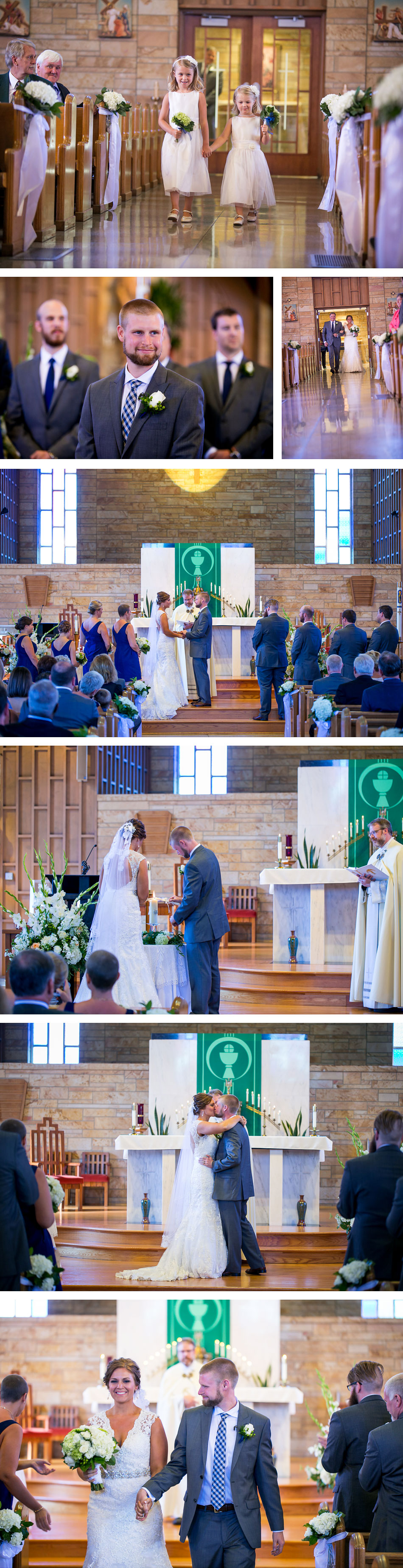 Wedding Ceremony at Our Lady of Perpetual Help