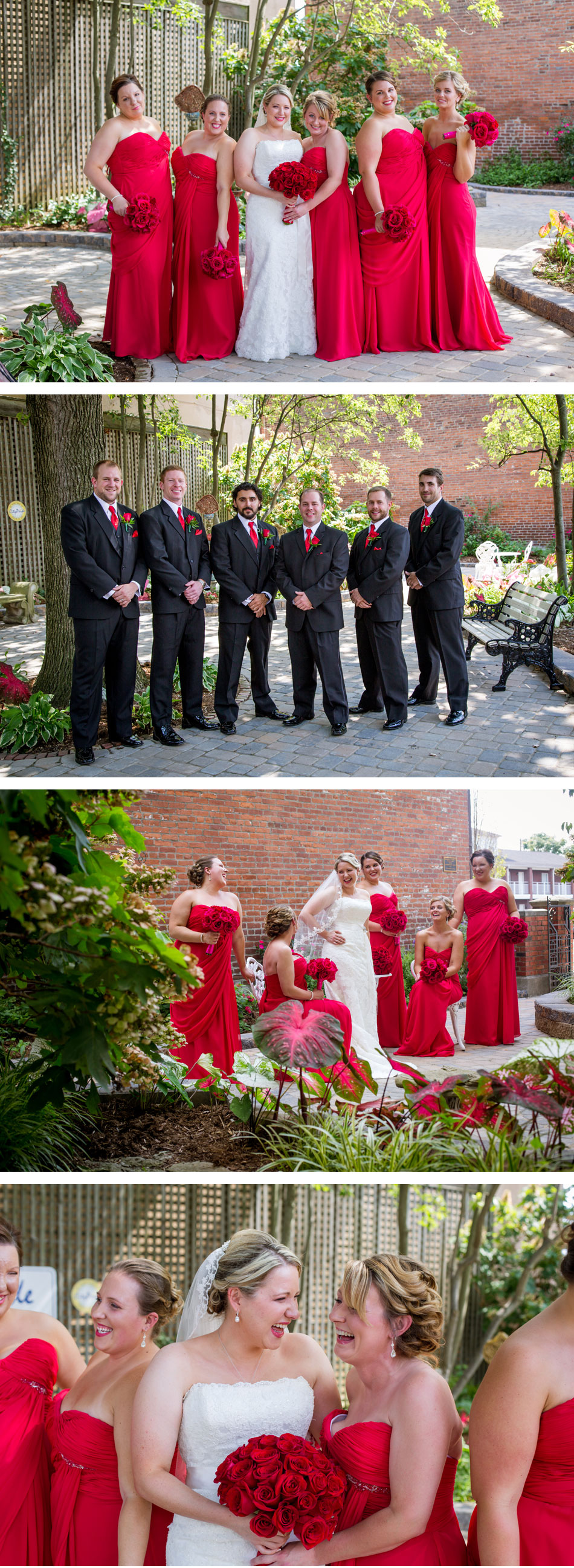 Jeffersonville, IN Bridal Party Pictures