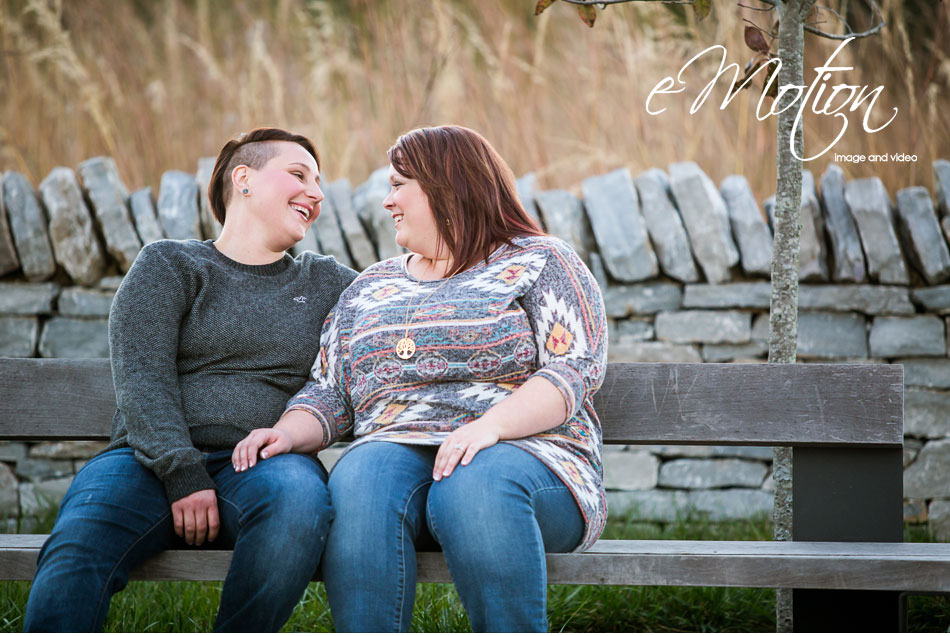 Lesbian Wedding Engagement Photos