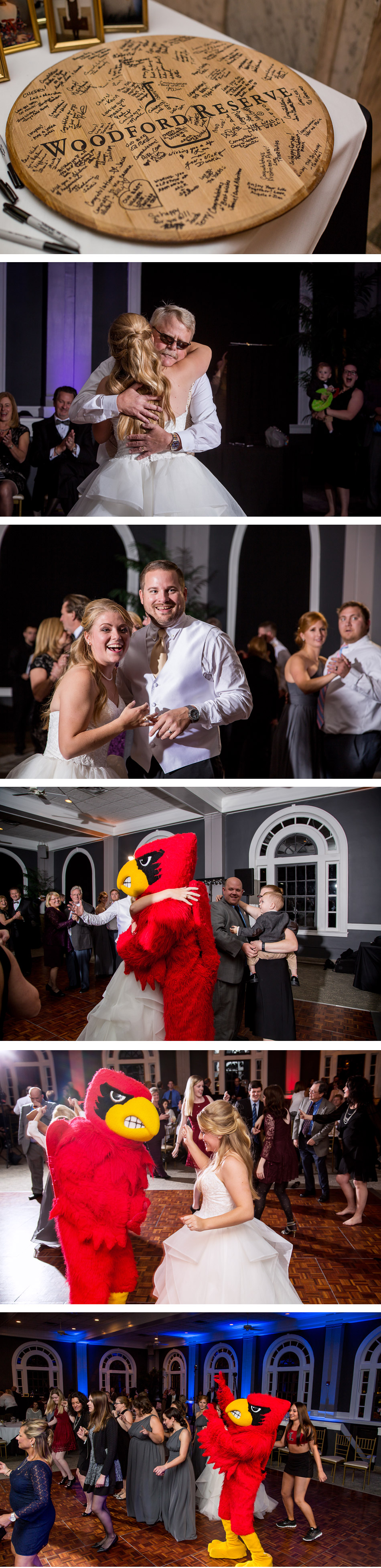 Olmsted Cardinal Bird Reception