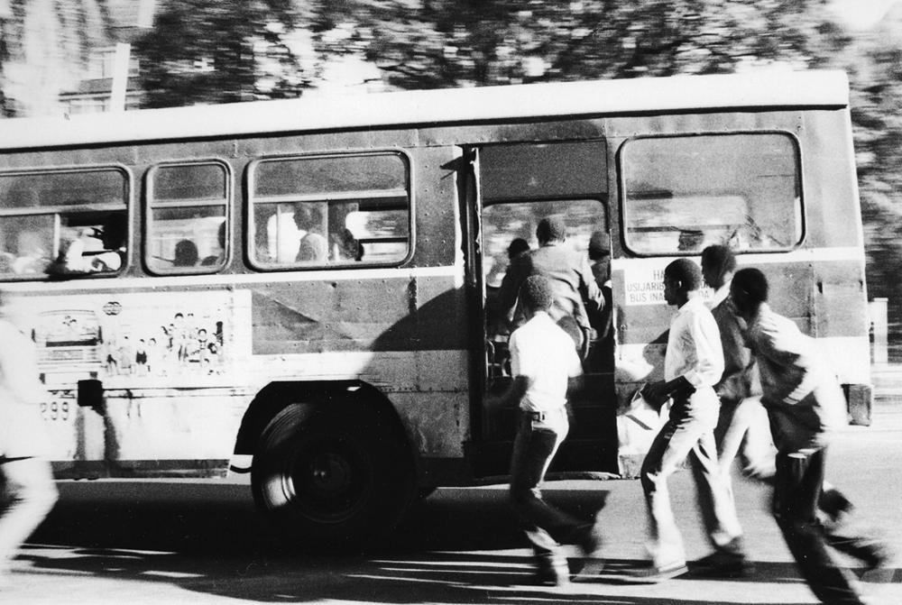 Nairobi Bus Not Stopping