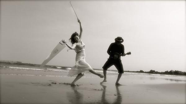 Irina Bjorklund & Peter Fox, Santa Monica