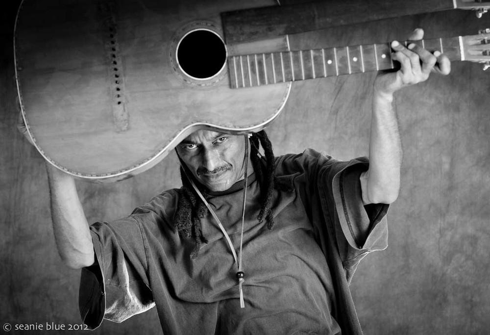 """H.R. guitarist """"Sage"""""""