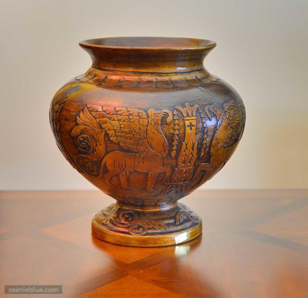 A nice vase.