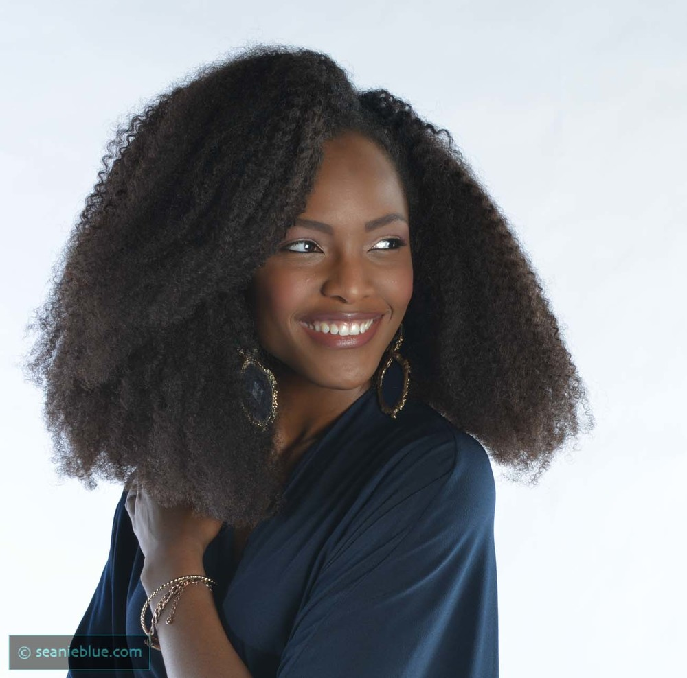 Miss Maryland Mame Adjei   Shot for MADIFF, an NGO promoting water conservation issues in Central Africa.