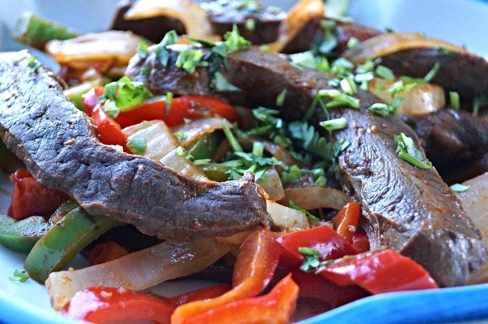 Anticuchos: stir-fry style