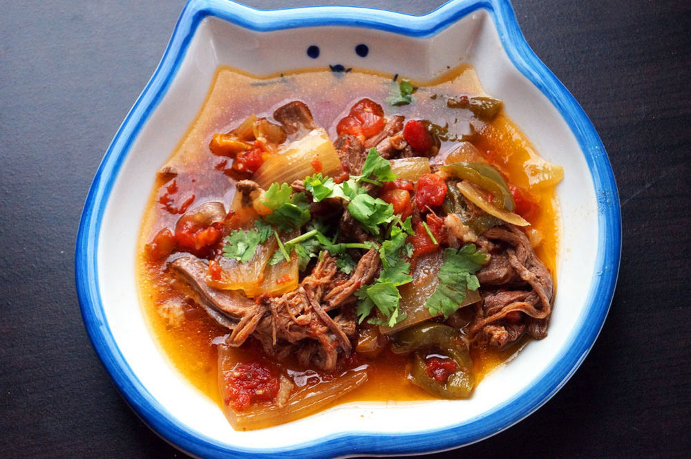 Easy Slow Cooker Cuban Ropa Vieja — The Curious Coconut