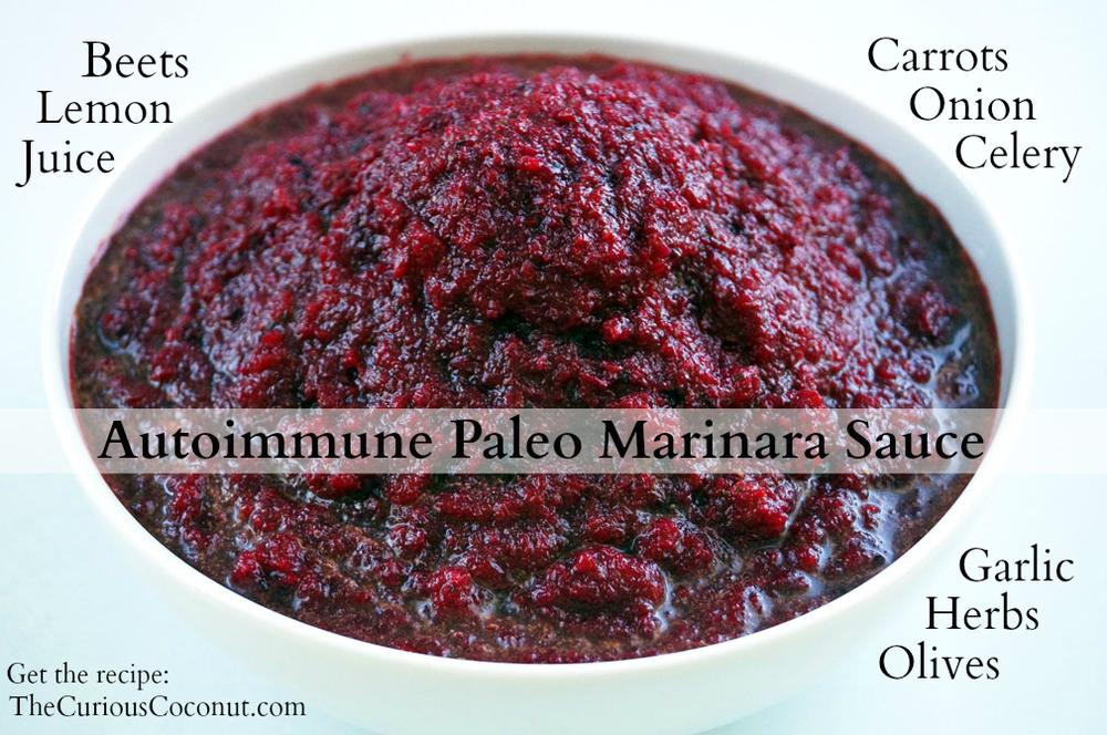 """Autoimmune Paleo Marinara """"No-Mato"""" Sauce #autoimmuneprotocol #AIPaleo"""
