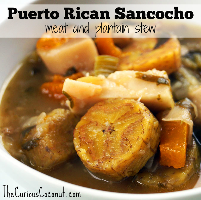 Ultra Nourishing Puerto Rican Sancocho The Curious Coconut