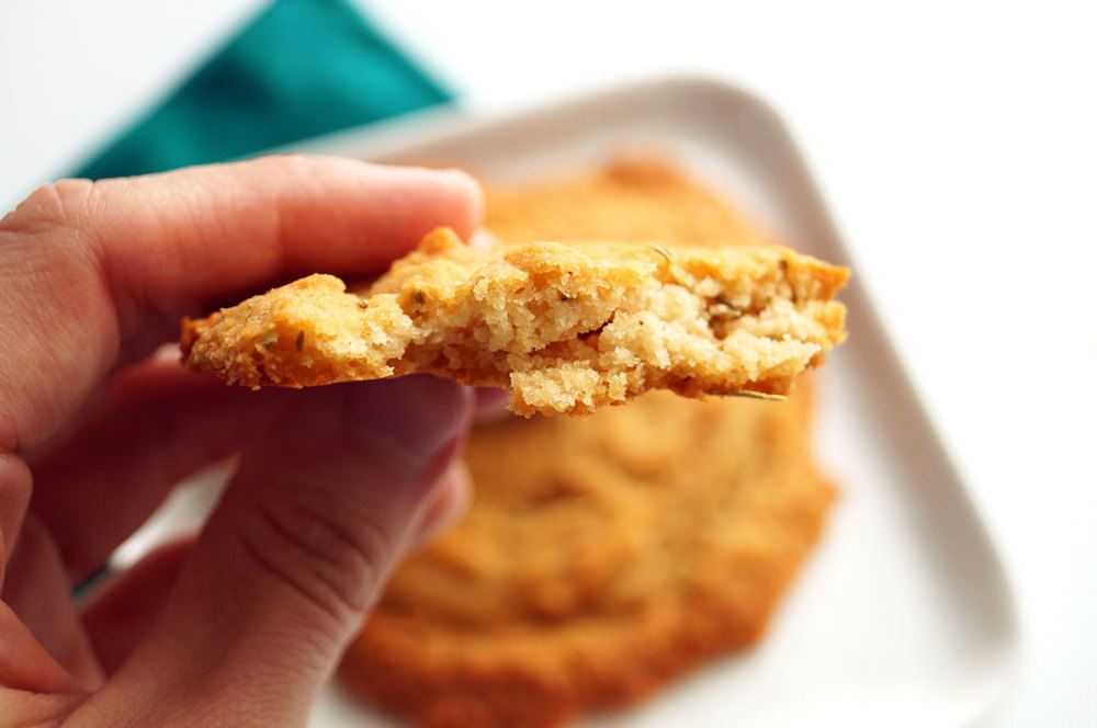 Savory Breakfast Cookies (aka flattened biscuits) #grainfree #eggfree #autoimmunepaleo ::: TheCuriousCoconut.com