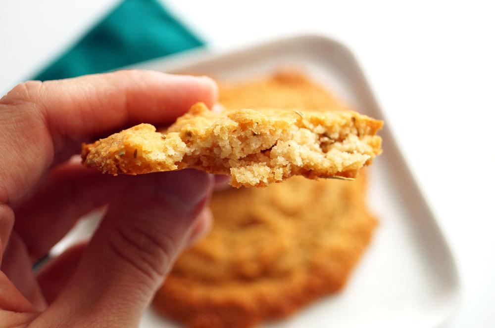 Savory Breakfast Cookies (aka flattened biscuits) #grainfree #eggfree #autoimmunepaleo ::: TheCuriousCoconut.com