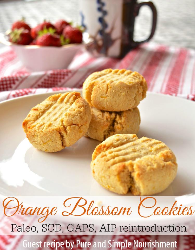 Paleo Orange Blossom Cookies The Curious Coconut