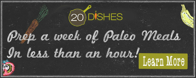 20 Dishes #paleo meal planning service // TheCuriousCoconut.com