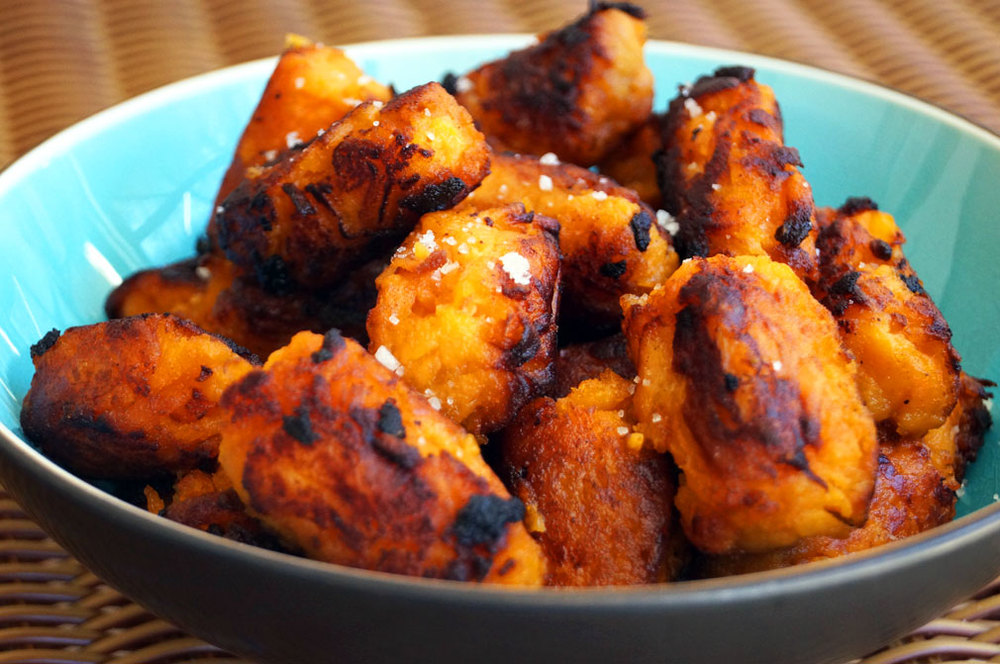 Sweet Potato Tater Tots FROM #FRUGALPALEO // THECURIOUSCOCONUT.COM #PALEO #AIP #glutenfree