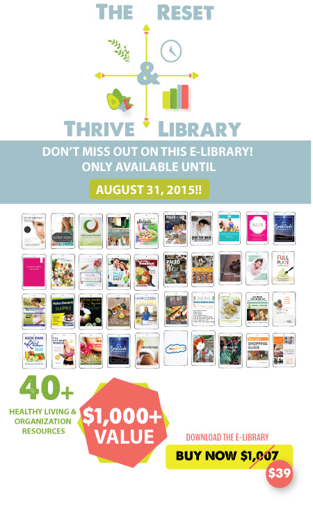 reset and thrive library