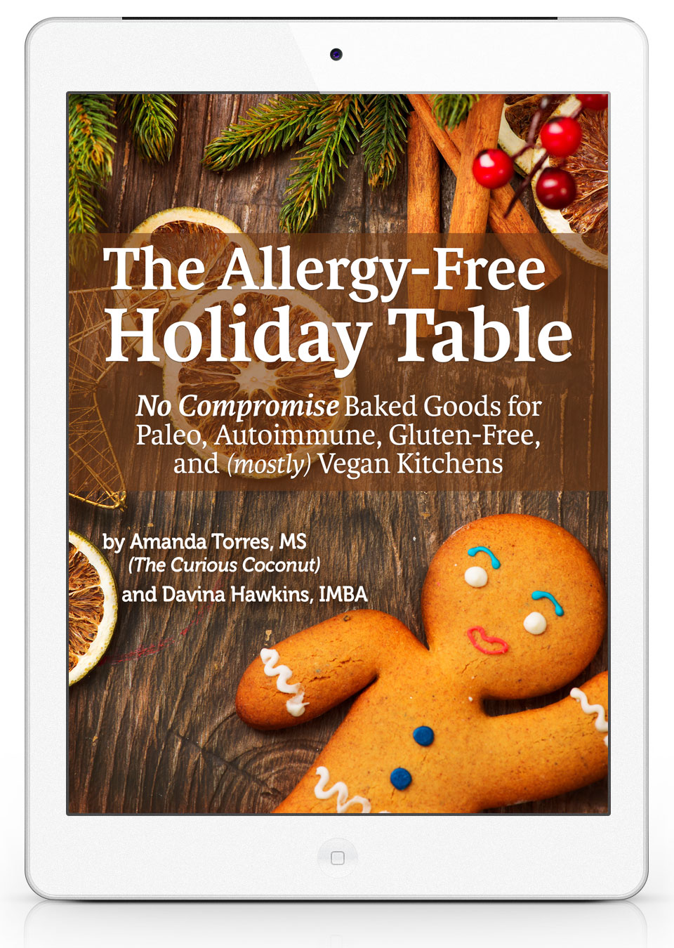 the allergy free holiday table