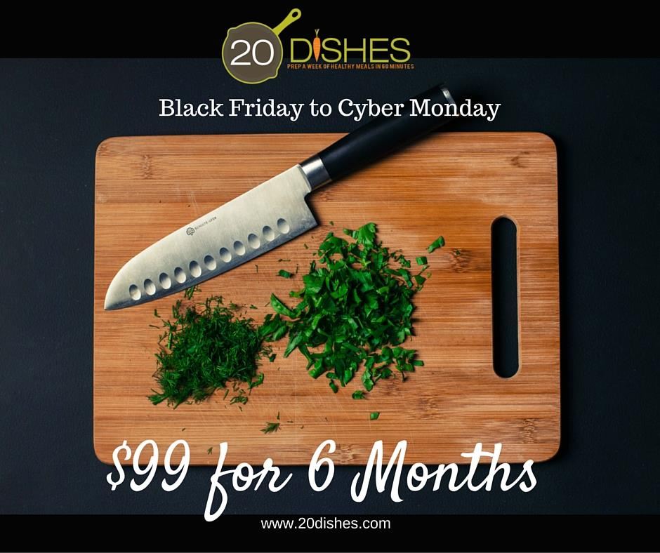 20 dishes black friday paleo sale
