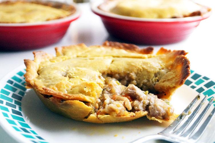 aip and paleo chicken pot pie cassava flour roux
