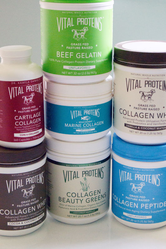 new vital proteins gelatin and collagen
