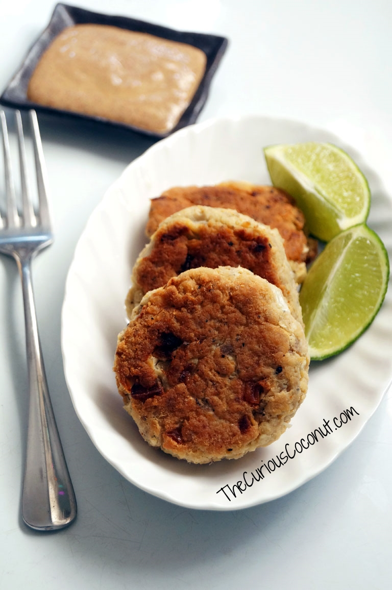 Classic Southern-Style Salmon Patties made Paleo and Gluten-Free - just like Grandma used to make! // TheCuriousCoconut.com
