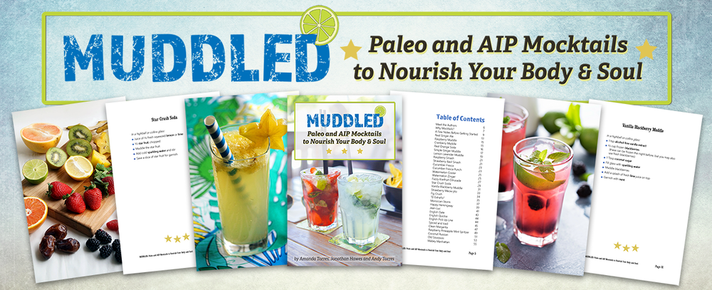 MUDDLED - 30+ AIP and Paleo mocktails to nourish body and soul! // TheCuriousCoconut.com