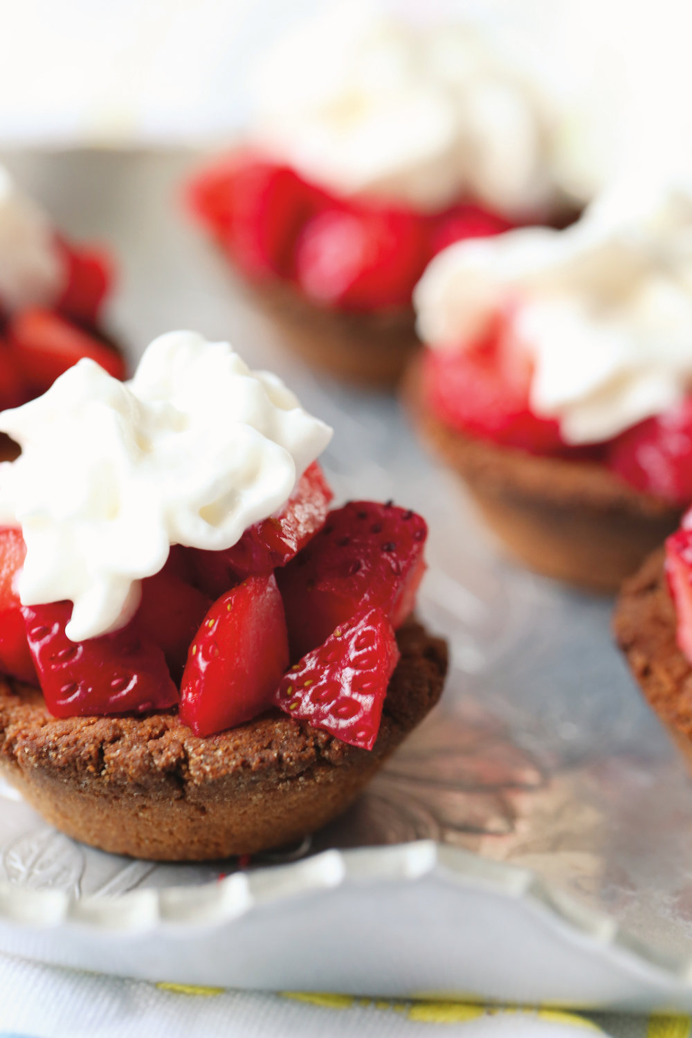 AIP Strawberry Shortcake Bites from The Paleo Kids Cookbook // TheCuriousCoconut.com