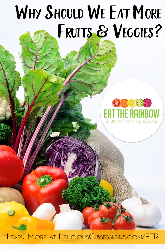 Eat more healthy fruits and vegetables with Eat the Rainbow email course // TheCuriousCoconut.com