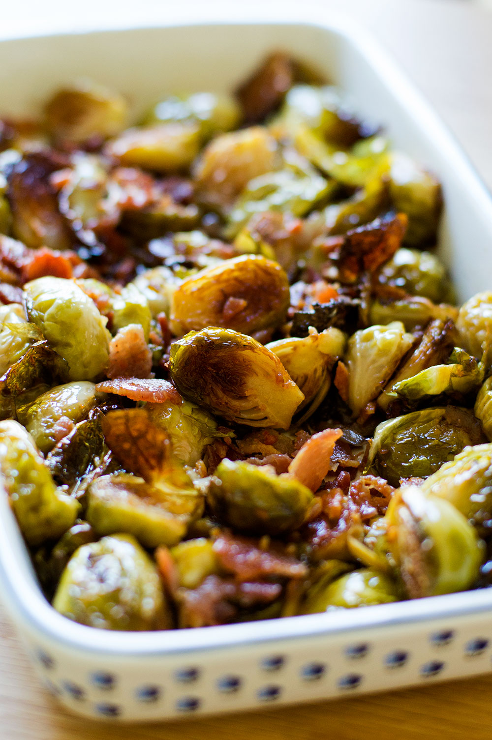 maple bacon brussels sprouts (paleo, AIP)