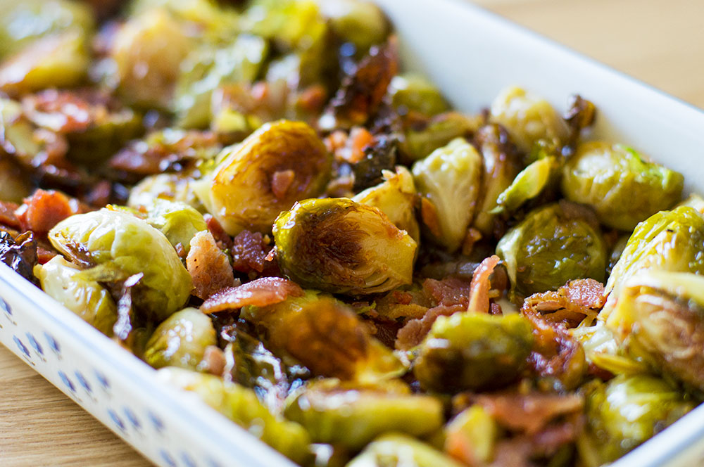 paleo and autoimmune protocol (AIP) maple bacon brussels sprouts