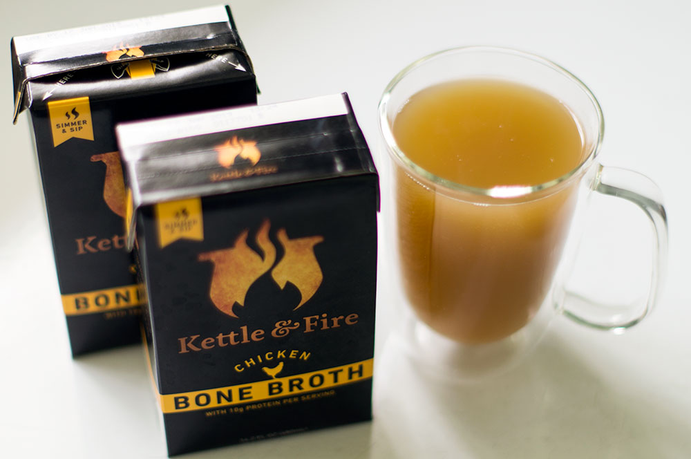 kettle and fire chicken bone broth paleo