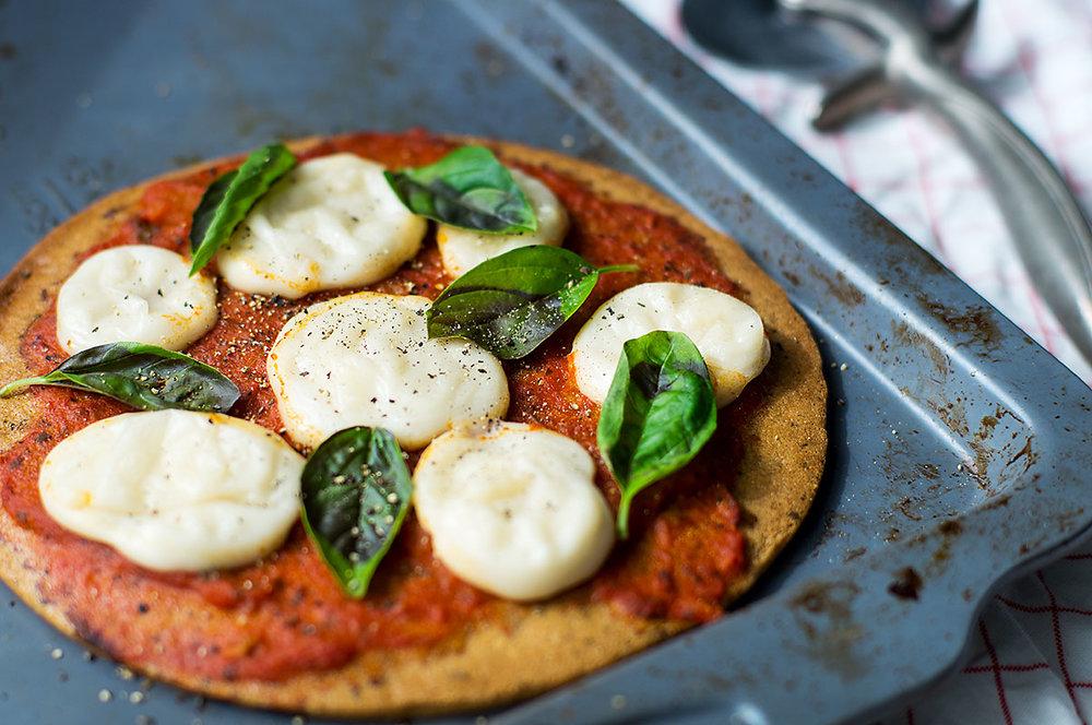 tapioca cheese Paleo AIP pizza fresh mozzarella queso blanco