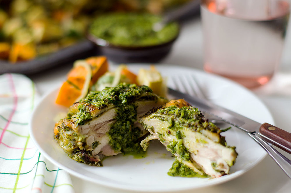 chimichurri chicken paleo aip keto