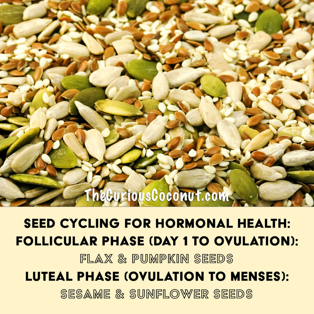 seed cycling for hormonal health