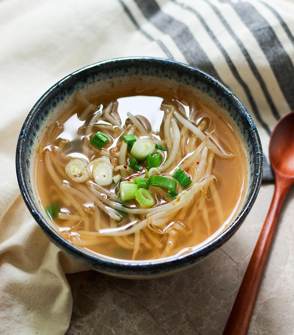 Paleo Kongnamul Guk (Korean Mung Bean Sprout Soup)