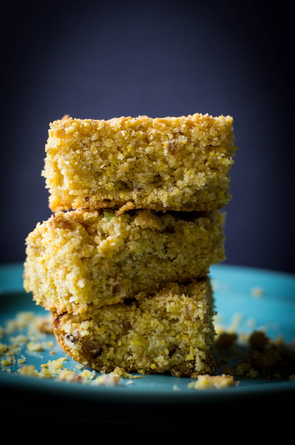 Savory Cracklin' Cornbread made gluten-free, dairy-free, egg-free, and sugar-free
