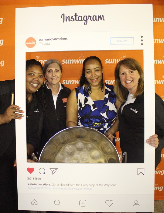 The Sunwing team really knows how to throw a party! Thanks for the hospitality Sheryl, Joy and Deena!