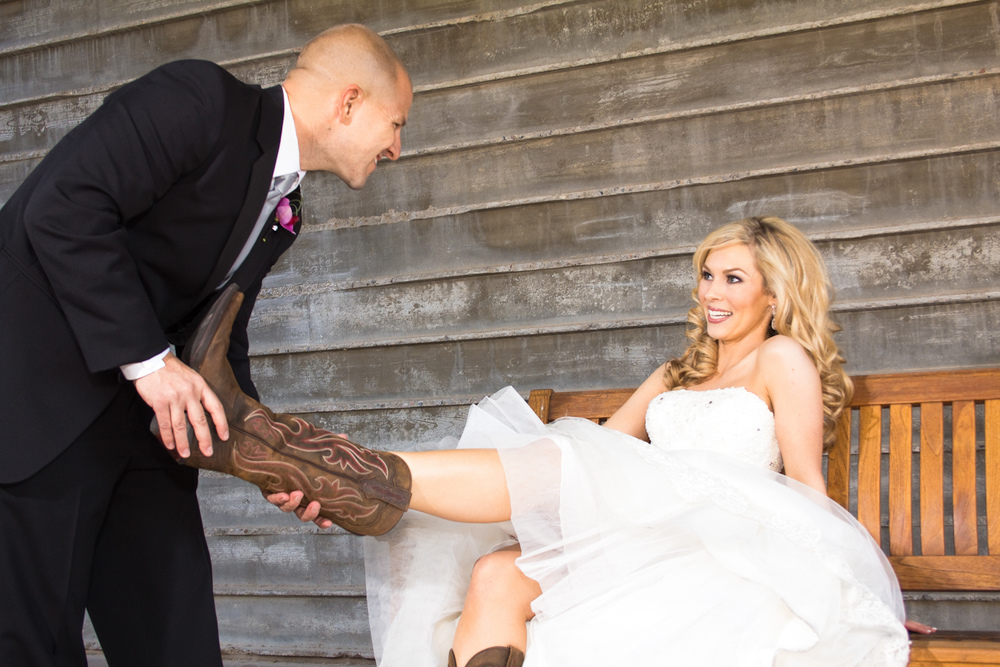 The Buttes Wedding