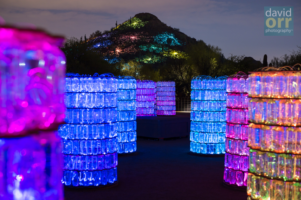 Bruce Munro's Water-Towers