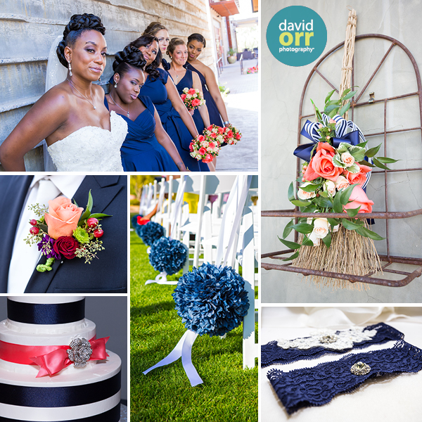 Bring back that fun tradition of something old, something new, something borrowed, and something blue to your wedding, with darker hues of mysterious blue!