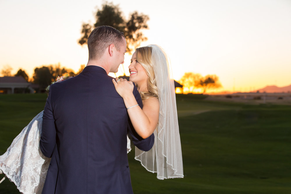 jackson + michelle - pebble creek golf club