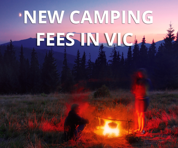 New fees at 100 Vic Campsites from March 2014