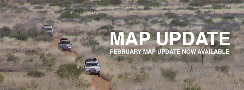 THEMAP - February 2015 map update
