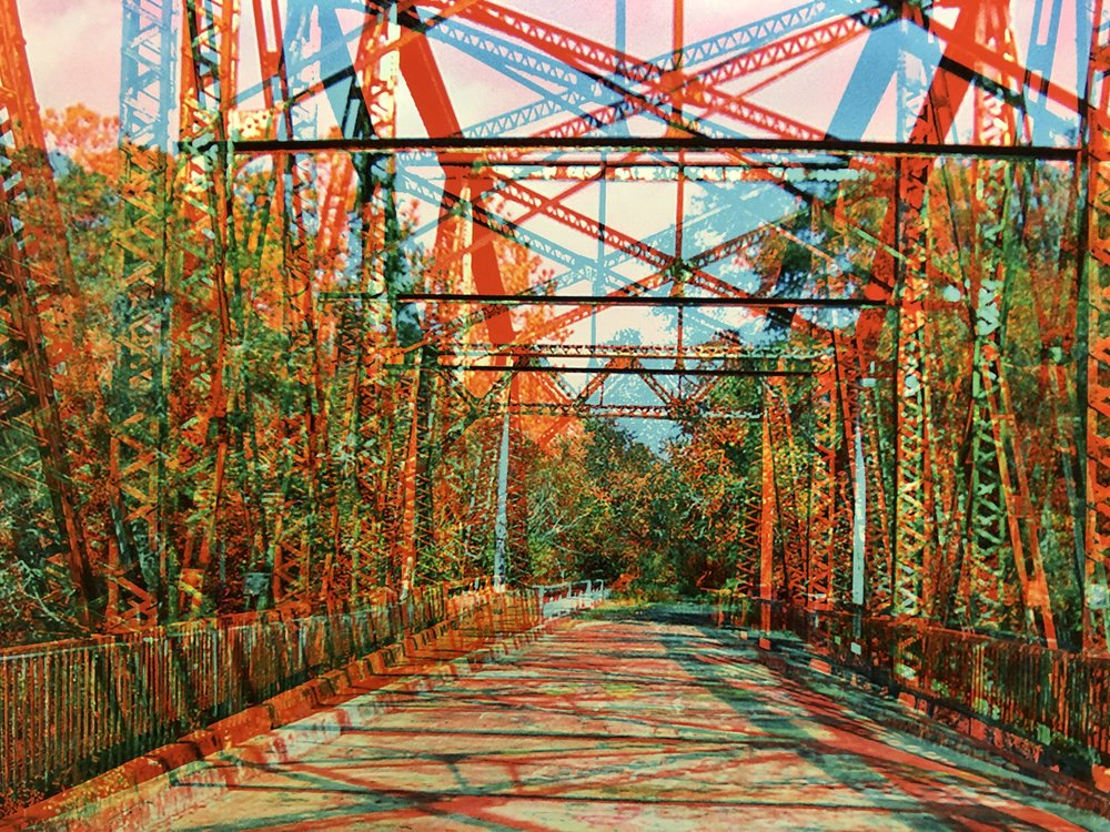 Abandoned Passage, Suwannee Springs Bridge, Live Oak, FL 2004 - Jim McManus