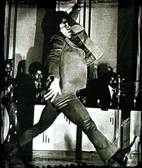 James Brown doing … the James Brown. One of his many talents